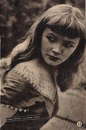Autographe D' Etchika Choureau