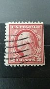 ULTRA RARE 2 CENTS  US POSTAGE SPECIAL ERROR CUT IMPERFORATED HIGH VALUE CV-? USED NO GUM STAMP TIMBRE - Etats-Unis