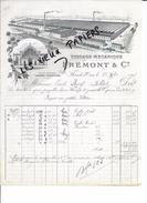 61 - Orne - FLERS-DE-L'ORNE - Facture FREMONT - Tissage - 1903 - REF 55B - 1900 – 1949
