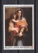 Sovrano Militare Ordine Di Malta ( SMOM ) Art Paintings Pittura Malerei 1991 391  MNH - Altri