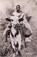 CP - Haute Volta - En Voyage - Homme Sur Vache - Man Met Koe Als Rijdier - Cartes Postales