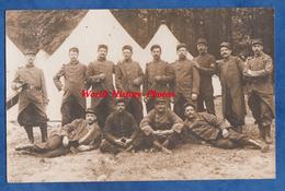 CPA Photo - Camp De CHALONS - Portrait De Militaire Du 46e Régiment En Manoeuvre - écrit Par Henri GAUTIER - 1912 - Militaria