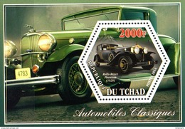 Tschad  Block  Rolls Royce  **/MNH - Voitures