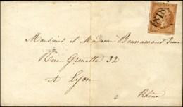 GC Délié 1818 / N° 13 Type 2 Sur Imprimé Complet. Au Verso, Càd D'arrivée... - 1853-1860 Napoleon III
