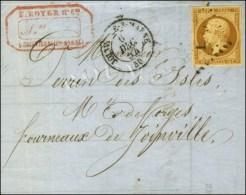 PC 1579 / N° 9 Càd T 15 JOINVILLE-S-MARNE 50 6 DEC. 54 Sur Lettre Locale. - TB. - R. - 1852 Louis-Napoleon