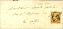 Etoile / N° 9 Sur Lettre Avec Texte De Paris Pour Paris. Au Verso, Càd D'arrivée 1853. - TB. - R. - 1852 Louis-Napoleon