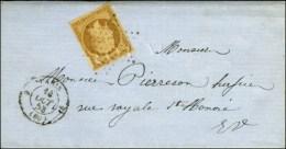 Etoile / N° 9 Càd 9 PARIS 9 (60) Sur Lettre Avec Texte De Paris Pour Paris. 1853. - TB. - R. - 1852 Louis-Napoleon