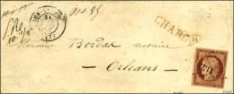 PC 1149 / N° 6 Càd T 15 DUN-LE-ROI (17) Sur Devant De Lettre Chargée Pour Orléans. 1852. -... - 1849-1850 Ceres