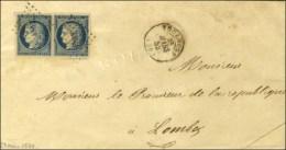PC 3383 / N° 4 Paire Très Belles Marges Càd T 15 TOULOUSE (30). 1852. - TB / SUP. - 1849-1850 Ceres
