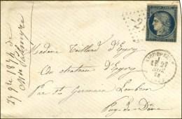 GC 21 / N° 4 Càd T 16 AIGUEPERSE (62) 27 NOV. 74 Sur Lettre Pour St Germain-Lembron. Extraordinaire... - 1849-1850 Ceres