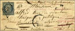 PC 3566 / N° 4 Cursive 78 / Vidauban (faible) Sur Lettre Adressée à Un Transporté... - 1849-1850 Ceres