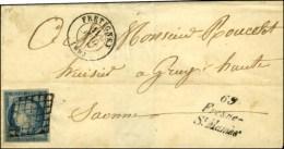 Grille / N° 4 Càd T 15 FRETIGNEY (69) Cursive 69 / Fresne - / St Mames. 1850. - TB / SUP. - R. - 1849-1850 Ceres
