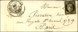 Grille / N° 3 (pd) Càd PONT-AUDEMER (26) (T 15 24 FEVR. 49 Annulé Par Le T 13 Du 25 FEVR. 49).... - 1849-1850 Ceres