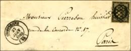 Grille / N° 3 Càd T 14 COMPIEGNE (58). 1849. - TB / SUP. - 1849-1850 Ceres
