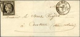 Grille / N° 3 Càd T 15 COUCHES-LES-MINES 70. - TB / SUP. - 1849-1850 Ceres