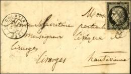 Grille / N° 3 (pd) Càd T 15 LA COURTINE (22). 1849. - TB. - 1849-1850 Ceres