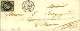 Grille / N° 3 Gris Noir Càd (F) PARIS (F) 60. 1850. - SUP. - R. - 1849-1850 Ceres