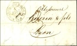 Càd T 13 ST SYMPHORIEN DE LAY (84) 1 JANV. 1849, Sur Lettre Avec Texte Daté Du 31 Décembre 48... - 1849-1850 Ceres