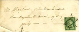 Etoile / N° 2 (belles Marges) Sur Lettre De Paris Pour Paris. - TB / SUP. - 1849-1850 Ceres