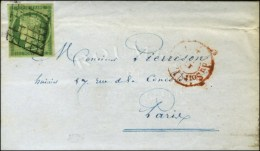 Grille / N° 2 (infime Froissure) Càd Rouge Du Bureau G (Type 1169 Non Signalé) Sur Lettre Avec... - 1849-1850 Ceres