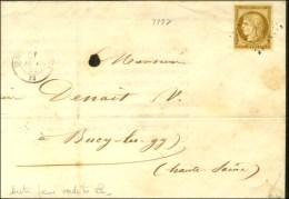 PC 3105 / N° 1 Bistre Jaune-verdâtre Càd T 15 ST GILLES DU GARD 29. 1852. - TB. - 1849-1850 Ceres