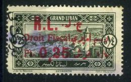 FRANCE ( LIBAN ) : TIMBRE  FISCAL  OBLITERE , A  SAISIR .
