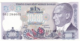 TURCHIA  1000 LIRASI  1970  FDS - Turquie
