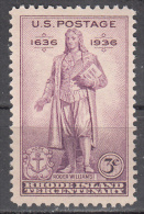 United States    Scott No.  777    Mnh   Year  1936 - Unused Stamps