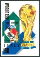 """1989 Sierra Leone """"Italia 90"""" Coppa Del Mondo World Cup Coupe Du Monde Calcio Football Block MNH** RR78 - Sierra Leone (1961-...)"""