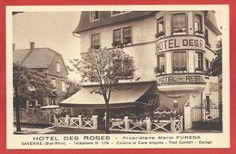 67 - SAVERNE - Hotel Des Roses - Mario FUGERA - Saverne