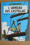 Johann Et Pirlouit - T11 - L'anneau Des Castellac - Peyo - Dupuis - Johan Et Pirlouit