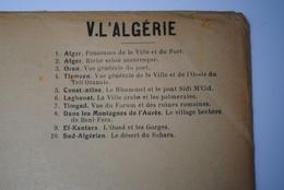 Rare Lot De 10 Vues Géantes Type CPA L'ALGERIE L'enseignement Par L'Aspect Baylet - Algeria