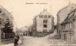 BEAUCOURT RUE DE BADEVEL - Frankreich