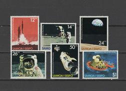 Samoa 1979 Space Apollo 11 Set Of 6 MNH