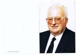 Meulebeke: 1995, De Heer Roger Duyck; Ere-voorzitter Raad Van Bestuur N.V. Moerman (2 Scans) - Andachtsbilder