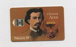 FRANCE -  CLEMENT ADER - 50 U - France