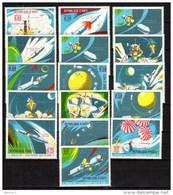 Haiti 1969 Space Set Of 16 MNH