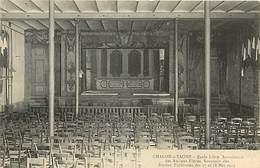 Saone Et Loire -ref- A603- Chalon Sur Saone - Ecole Libre / Association Anciens Eleves - Theatre 17 Et 18 Mai 1913 - - Chalon Sur Saone