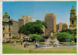 DURBAN:  MEDWOOD  GARDEN, CITY CENTRE  MEDWOOD-TUINE    2 SCAN  (VIAGGIATA) - Sud Africa