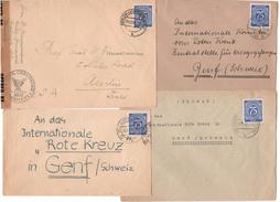 Germany1946:Michel Michel934 Ef On Covers(4) - [7] République Fédérale