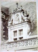 MIEUSEMENT  PHOTO D'ARCHITECTURE CHATEAU DE BLOIS PHOTO ORIGINALE ET AUTHENTIQUE VERS 1860 - Antiche (ante 1900)