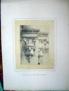 MIEUSEMENT  PHOTO D'ARCHITECTURE CHATEAU DE CHAMBORD  PHOTO ORIGINALE ET AUTHENTIQUE VERS 1860 - Antiche (ante 1900)