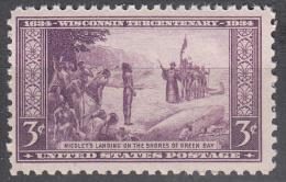 United States    Scott No.  739      Mnh   Year  1934 - Ungebraucht