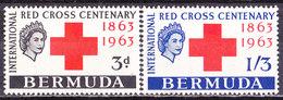 Croce Rossa-Bermuda 1963-Serie Completa Nuova MNH** - Croce Rossa