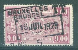 "BELGIE - OBP Nr TR 161 - Cachet  ""BRUXELLES-BRUSSEL T.T. - Nr 5"" - (ref. AD-9964) - 1923-1941"
