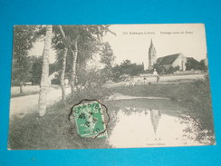 """45 ) Coinces N° 505 - Paysage Route De Patay """" La Mare """" - Année 1916 - EDIT : Gasnier - France"""
