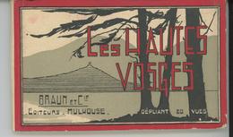 LES HAUTES VOSGES - Dépliant Complet De 20 CPA - Lac Des Perches, Bussang, Hartmannswillerkopf, Metzeral, Gérardmer..... - France