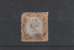 1862 10 C. Bistro Non Dentellato US - 1861-78 Vittorio Emanuele II