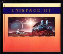 United Nations NY MNH 1999 Scott #763 Souvenir Sheet $2 Probe, Planetary Rover - UNISPACE III - New-York - Siège De L'ONU