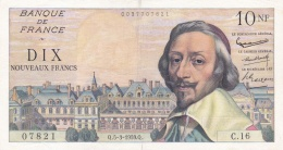 10 NF Francs Richelieu Du 05 03 1959  Ref  Fayette 57/1 Splendide - 1959-1966 Nouveaux Francs